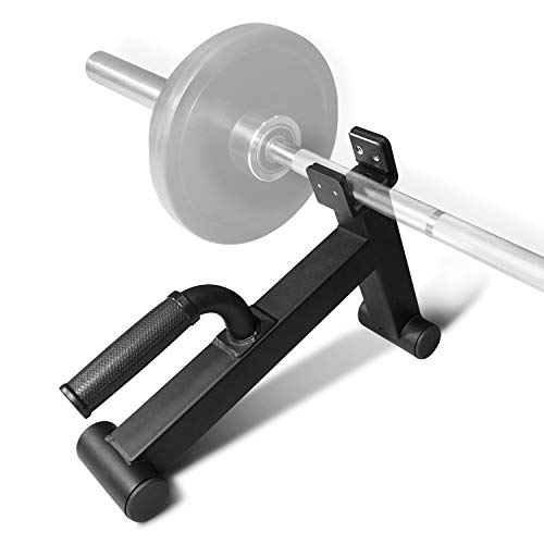 Yes4All Mini Deadlift Barbell Jack with Handle – Ideal for Loading/Unloading Weight Plates – Deadlift Bar Jack/Deadlift Jack Stand (Black)