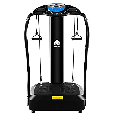 Rocket Bunny® Oscillating Vibration Massage Fitness Plate Trainer Exercise Machine from Rocket Bunny