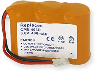 at-T/Lucent 5475 Cordless Phone Battery Ni-CD, 3.6 Volt, 400 mAh - Ultra Hi-Capacity - Replacement for Rechargeable Battery