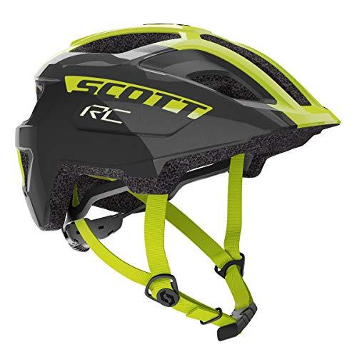 Scott Spunto Junior Plus MIPS Kinder Fahrrad Helm Gr.50-56cm schwarz/gelb 2020