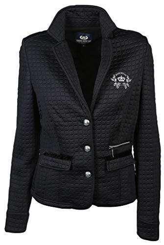 L'Argentina Damen Blazer Größe XL Schwarz (schwarz)