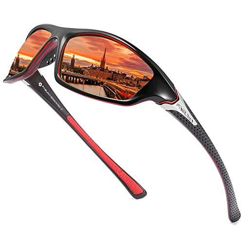 Gafas de Sol polarizadas para Hombre, para Ciclismo, conducción, Pesca, 100% protección UV, Normal