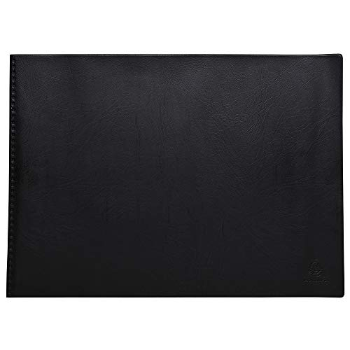 Exacompta 88330E - Carpeta de 20 fundas, A3, color negro