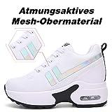 Zoom IMG-1 aonegold sneakers donna zeppa scarpe