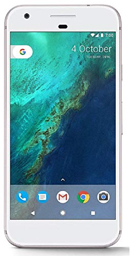 Google Pixel 1st Gen 32GB Factory Unlocked GSM/CDMA Smartphone for all GSM Carriers + Verizon Wireless + Sprint (Very Silver) (Renewed)