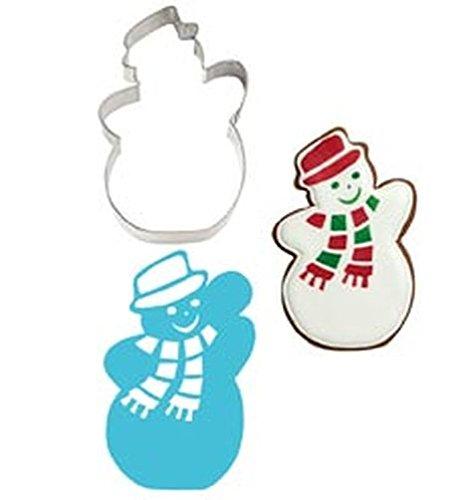 Wilton Stencil-A-Cookie SNOWMAN Cookie Cutter & Stencil Set