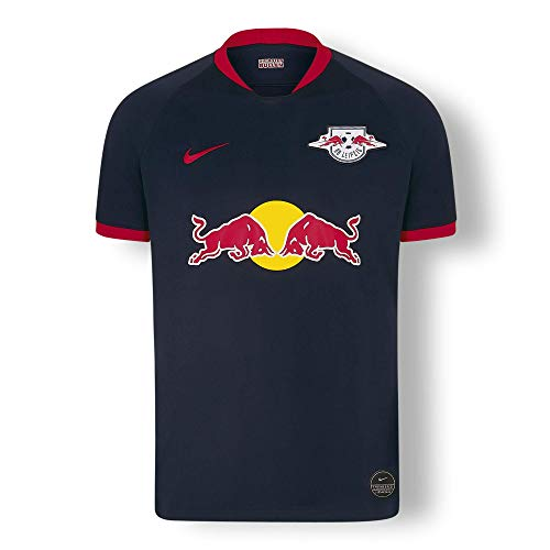 RB Leipzig Away Trikot 19/20, Blau Herren XX-Large T Shirt, RasenBallsport Leipzig Sponsored by Red Bull Original Bekleidung & Merchandise