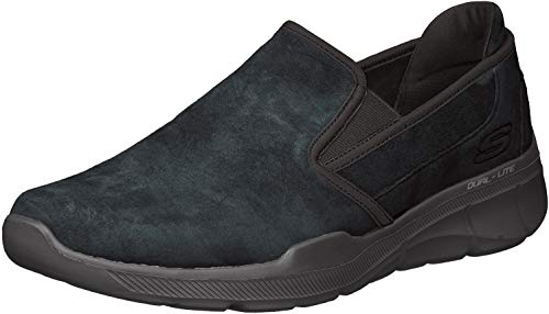 Skechers Men's Equalizer 3.0- Substic Slip On Trainers, Schwarz (Black BBK) ,46 EU