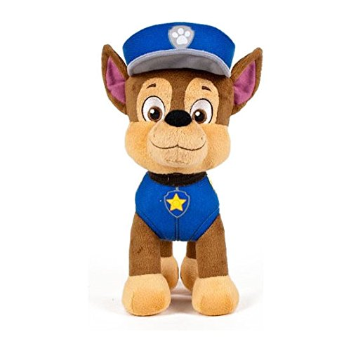 Play By Play – Peluche patrouille Paw Patrol – Chase 19 cm