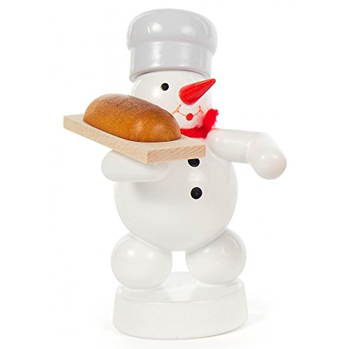 Dregeno Erzgebirge - Schneemann mit Brot