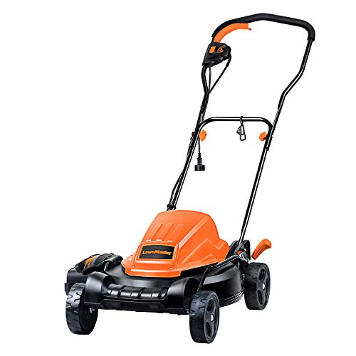 in budget affordable LawnMaster ME1218X 12A, 19 inch electric lawn mower