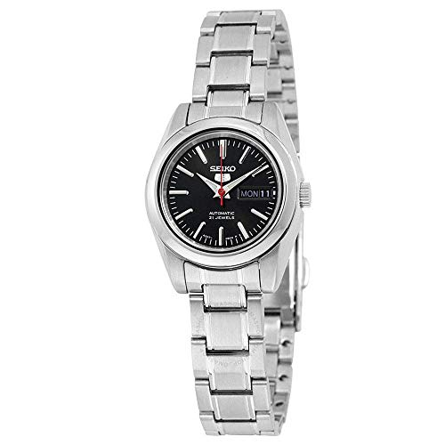 Seiko 5 #SYMK17K1 Women's Black Dial Self Winding Automatic Watch