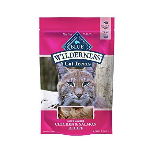 Blue Buffalo Wilderness Chicken & Salmon Grain Free Cat Treats 2 oz
