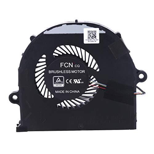 GREEN&RARE Ventilador de refrigeración para ordenador portátil, radiador de repuesto para ROG Strix FX63 FX63VM FZ63VM DFS541105FC0T-FK 6P accesorios, disipador de calor eficiente, bajo ruido