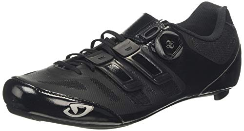 Giro Sentrie Techlace Road, Chaussures de Vélo de Route Homme, Multicolore (Black 000), 42 EU