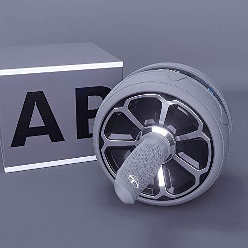 Rueda para Entrenamientos de Abdominals Dispositivo for entrenamiento abdominal, abdominal de rebote de la rueda Profesional automático, inteligente freno, ABS Material de Protección del Medio Ambient