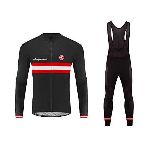 Uglyfrog Nouveaux Modèles Combinaison Cycliste Maillot + Pantalons Bretelle Longue pour Homme Bretelle Kit Herbst