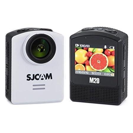 Develop 10 SJCAM M20 Action Cam Sport Camera 4K 24FPS Ultra HD Digital Video Camera Outdoor Waterproof Underwater Camcorder 16MP Mini NT96660 DSP IMX 117 WiFi 2 inch_White