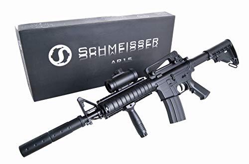 Softair Vollmetall Pistolen Colt Browning Walther Heckler & Koch Beretta BGS Combat Zone uvm. Airsoft Softair Kugeln Munition Qualität aus Deutschland von ETU24 (Schmeisser AR-15 Vollautomatisch)
