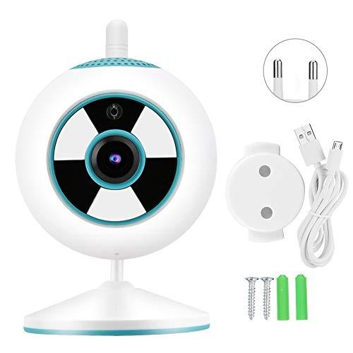 Yivibe Cámara de Alta definición 1080P, cámara IP, micrófono Incorporado, monitorización del hogar, Pantalla Clara(Blue, European regulations)