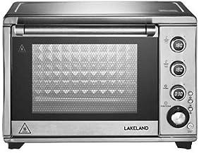 Lakeland Mini four numérique multifonction argenté avec rôtisserie et minuterie