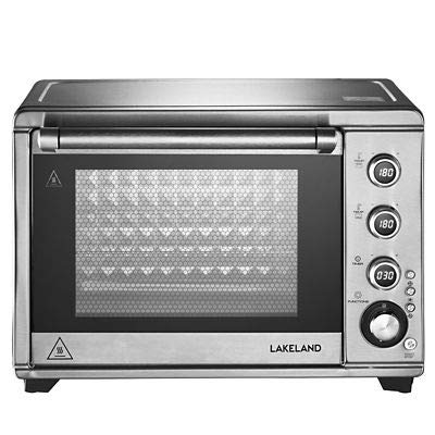 Lakeland Digital Multifunctional Mini Oven Silver with Rotisserie & Timer