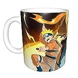Anime Naruto Sasuke Tazza da caffè in ceramica con manico Naruto-16
