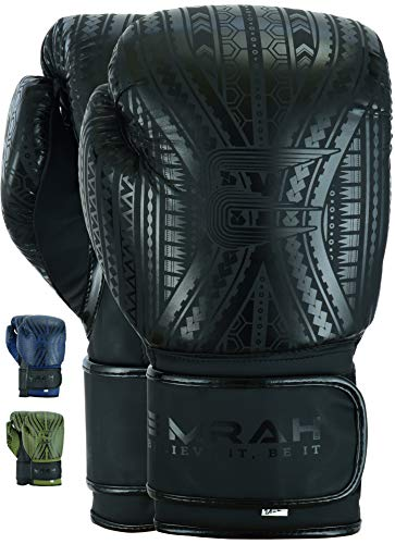 EMRAH Charged V-2 Boxing Gloves Muay Thai Training Sparring...
