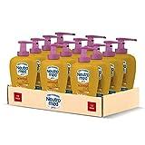 Neutromed Detergente Mani Liquido Sensual&Oil, Sapone Igienizzante Mani, Profumo di Fiori di Monoi, 12 Pezzi x 300 ml