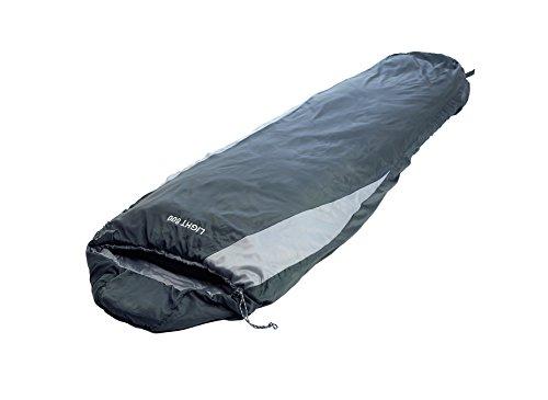 EXPLORER Schlafsack 210x75cm LIGHT800 Mumienschlafsack -6°C Outdoor Camping Kapuze Wandern Kompressionspacksack