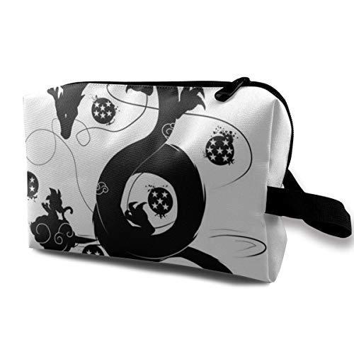 Schminktasche Kosmetiktasche Dragon-Ball Z Shenron Wish Multifunktionale Tasche Travel Kit Aufbewahrungstasche