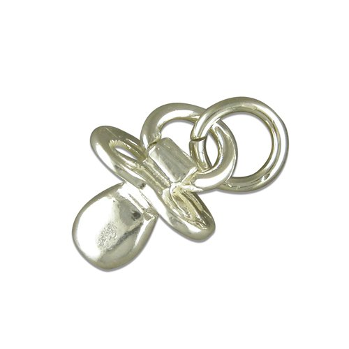 Charm-Anhänger Sterling-Silber 925Baby-Schnuller