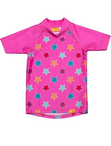 UV Shirt Kinder Stars pink (92/98)