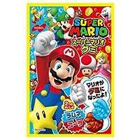 ノーベル製菓 スーパーマリオグミ ラムネ&コーラ 45g×6袋入×(2ケース)