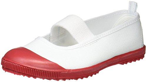 [アキレス] 上履き バレー 日本製 15cm~28cm 2E キッズ 男の子 女の子 HCB 5200 エンジ 19.0 cm