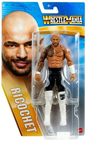 Collect WWE - Wrestlemania 37- Ricochet - Action Figure, bring home the action of the WWE - Approx 6'