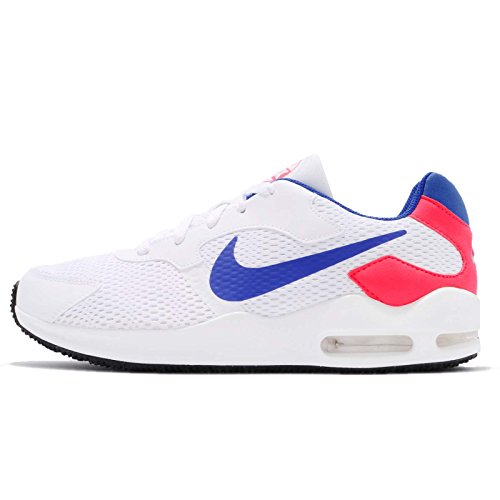 Nike Herren Air Max Guile Freizeitschuhe, Weiß (weiß / blau / rot weiß / blau / rot), 41 EU