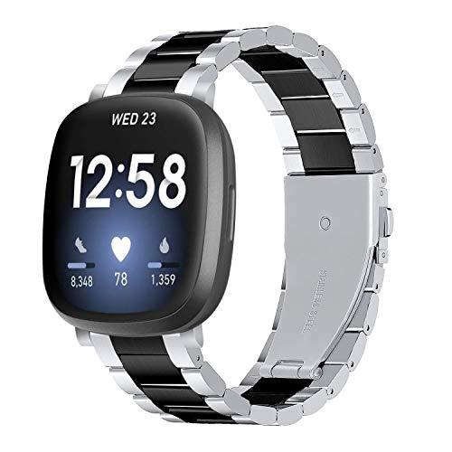 Tencloud Correas compatibles con Fitbit Versa 3, pulsera de
