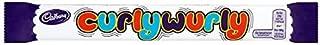 Cadbury Curly Wurly Chocolate Bar 48 x 26g Bars (Bulk Buy)