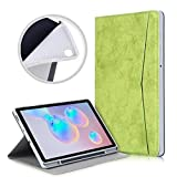 Étuis pour tablettes Galaxy For Samsung Galaxy Tab S6 Lite P610 / P615 Marbre Tissu Texture TPU...