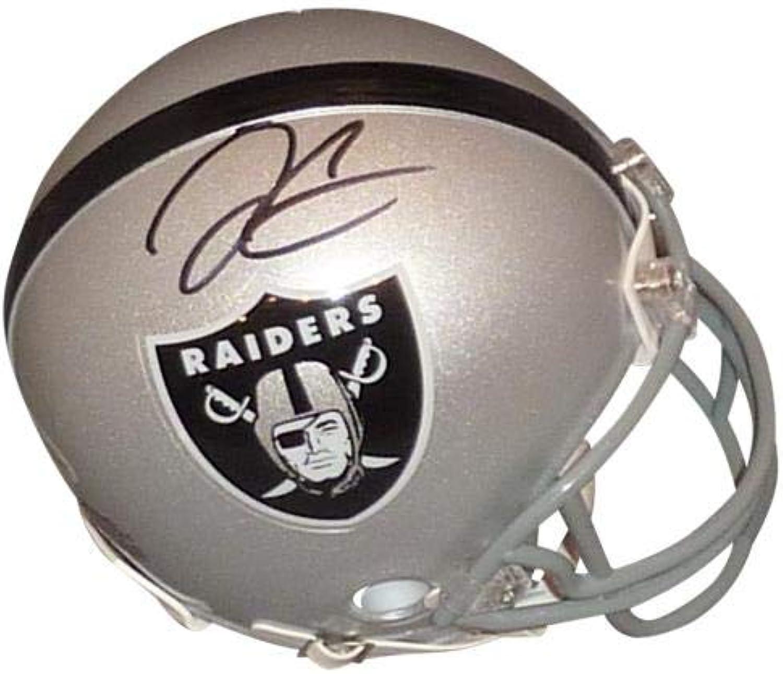 Derek Carr Signed Mini Helmet  PSADNA  Autographed NFL Mini Helmets