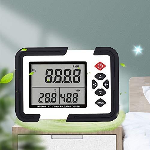 LAYBAY Kohlendioxid Detektor, Luftqualitat Melder Mit Aufbewahrungskoffer Für Luftqualitäts Detektor Monitor