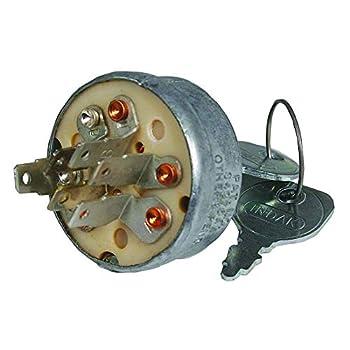 Stens 430-110 Starter Switch Replaces John Deere AM38227  Gray
