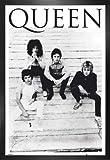 1art1 Queen Poster und MDF-Rahmen - Another One Bites The