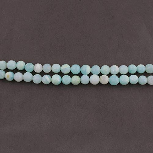 World Wide Gems Beads Gemstone Big Halloween Sale 1 Strand Excellent Quality Blue Opal Faceted Briolettes - Ball Beads 10mm-11mm 13 Inches Long SB1632 Code-HIGH-34755