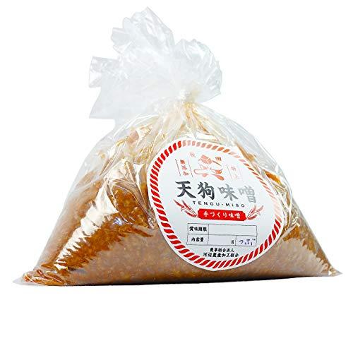 秋田 特上 天狗味噌 秋田味噌 天然醸造 無添加 詰め替え用 巾着 2.5kg 1袋