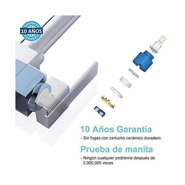 Hapilife 1,8KG Grifo Ósmosis 3 Vías Mezclador con Sistema de Agua Purificada Agua Filtrada para Fregadero, Caño…