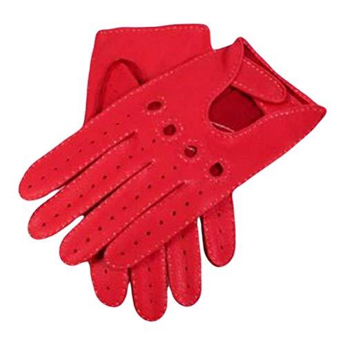 Dents Berry daim conduite en cuir gants 10 10
