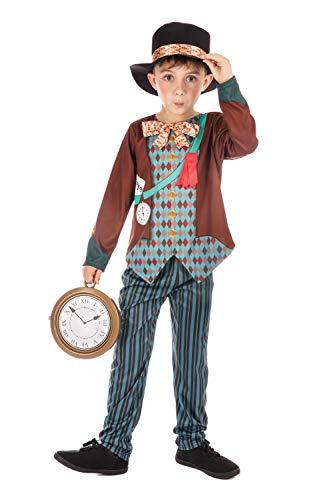 Bristol Novelty - Costume da Cappellaio Matto per bambini