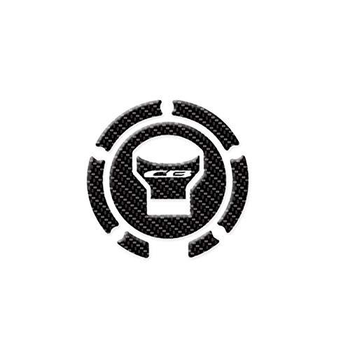 Motorrad Tank Aufkleber Motorrad-Zubehör 3D-Faser-Aufkleber-Sets Tank-Aufkleber-Schutz-Auflage-Set for Honda CB650R CB 650R 2019 (Color : C)